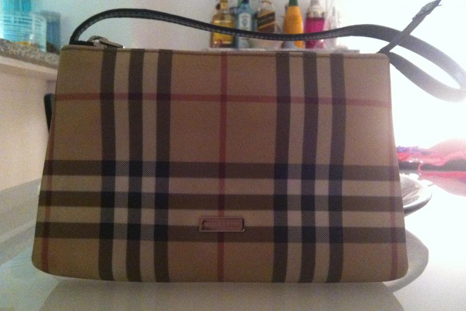 Burberry 'Check' Mini Shoulder Bag Large Photo