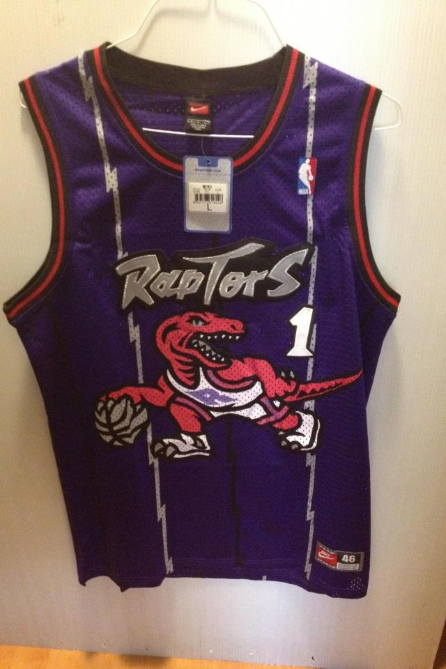 Tracy McGrady authentic Raptors jersey!! BRAND NEW VERY CHEAP!! Large Photo