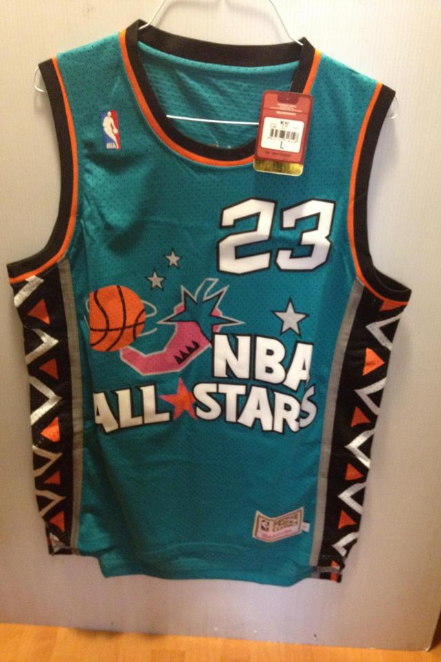 Michael Jordan 1996 all star authentic JERSEY BRAND NEW VERY CHEAP!! Large Photo