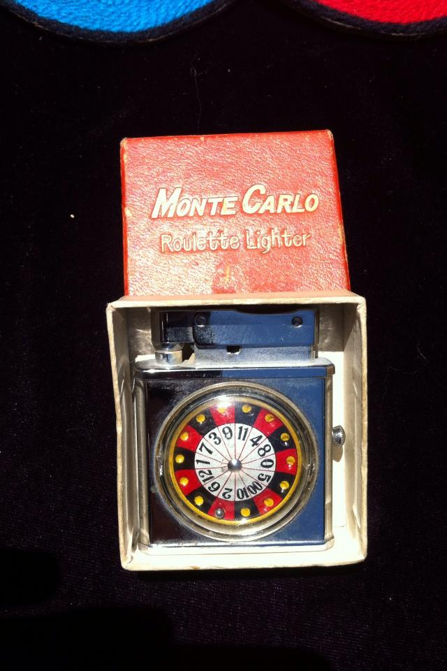 Vintage Roulette Wheel Lighter Large Photo