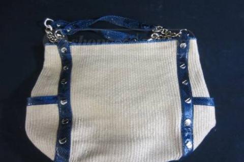 Michael Kors Straw Handbag Photo
