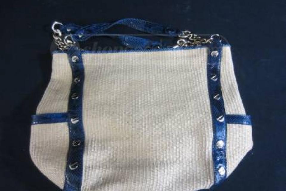 Michael Kors Straw Handbag Large Photo