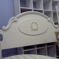 Shabby Chic Headboard Photo