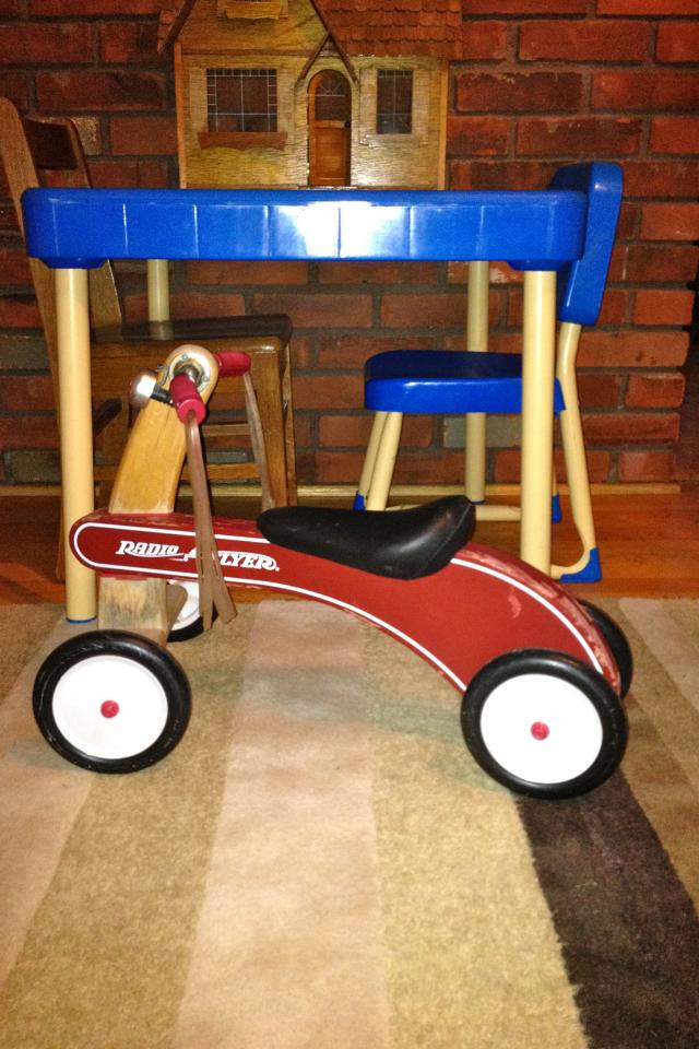 Original Radio Flyer Tiny Trike  Photo