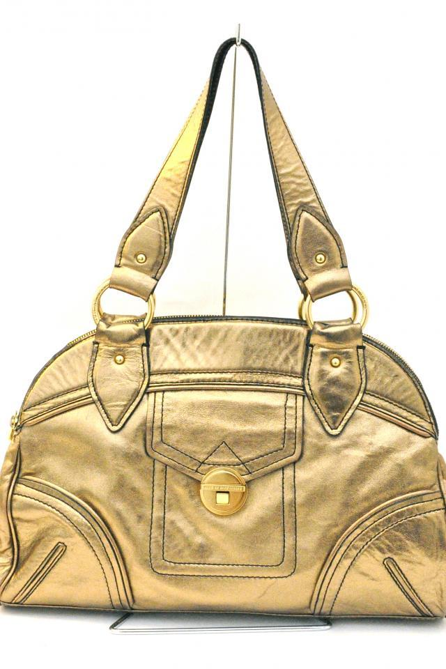 Marc Jacobs Bronze Leather Satchel Photo