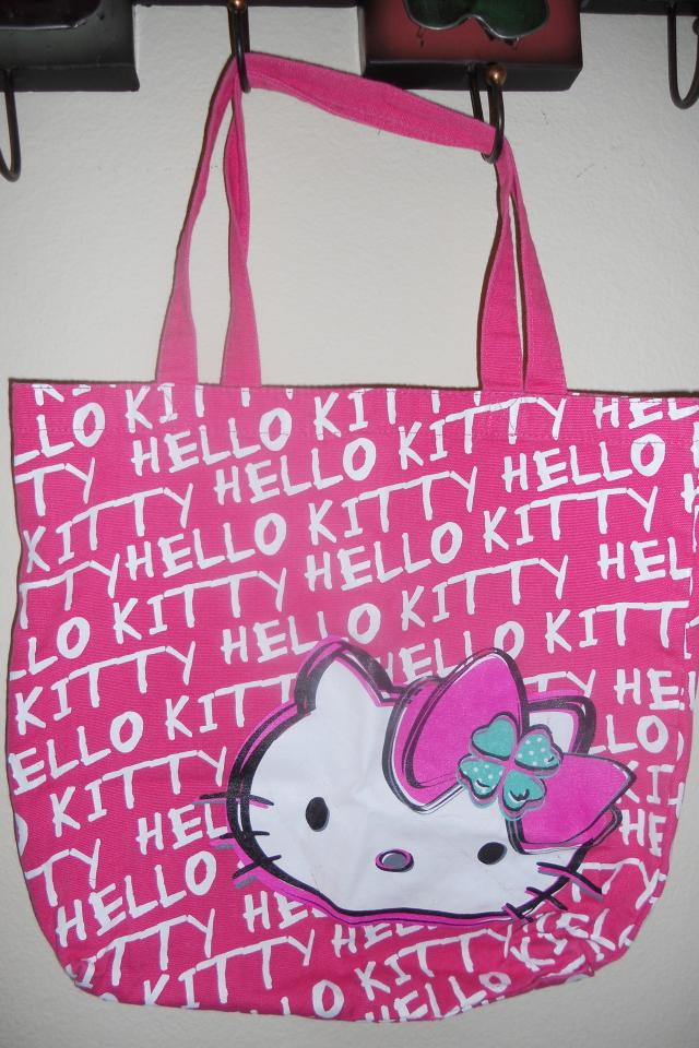 HELLO KITTY tote bag Photo