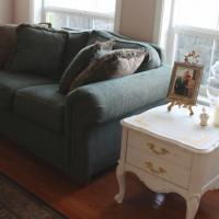 Vintage French Provincial Side Table Photo