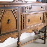 1920's Large Versatile & Beautiful Buffet/Cabinet Photo