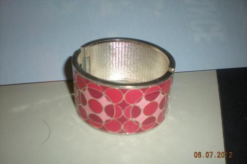 Pink Cuff Bracelet Photo