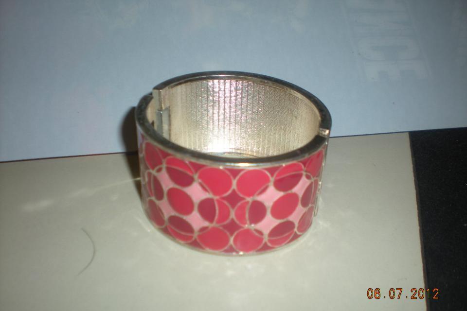 Pink Cuff Bracelet Large Photo