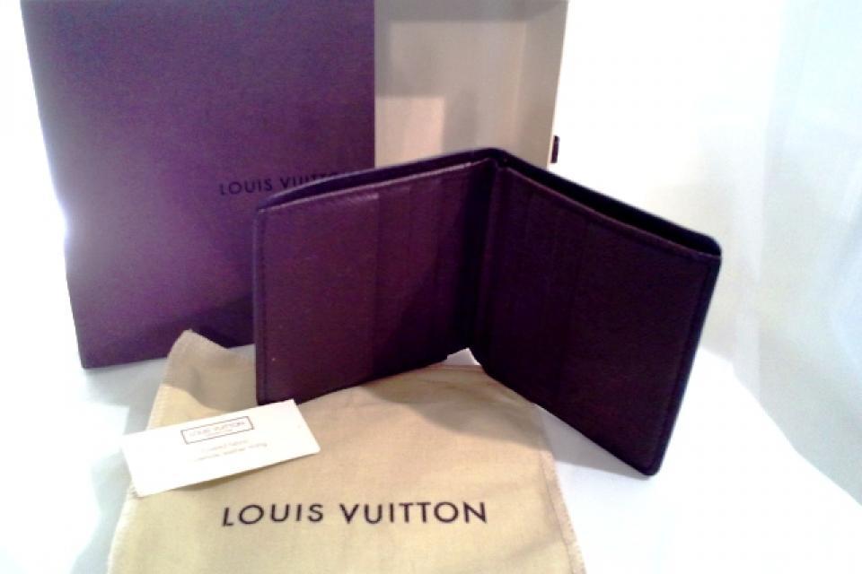 Mens Louis Vuitton Damier Ebene Billfold Large Photo