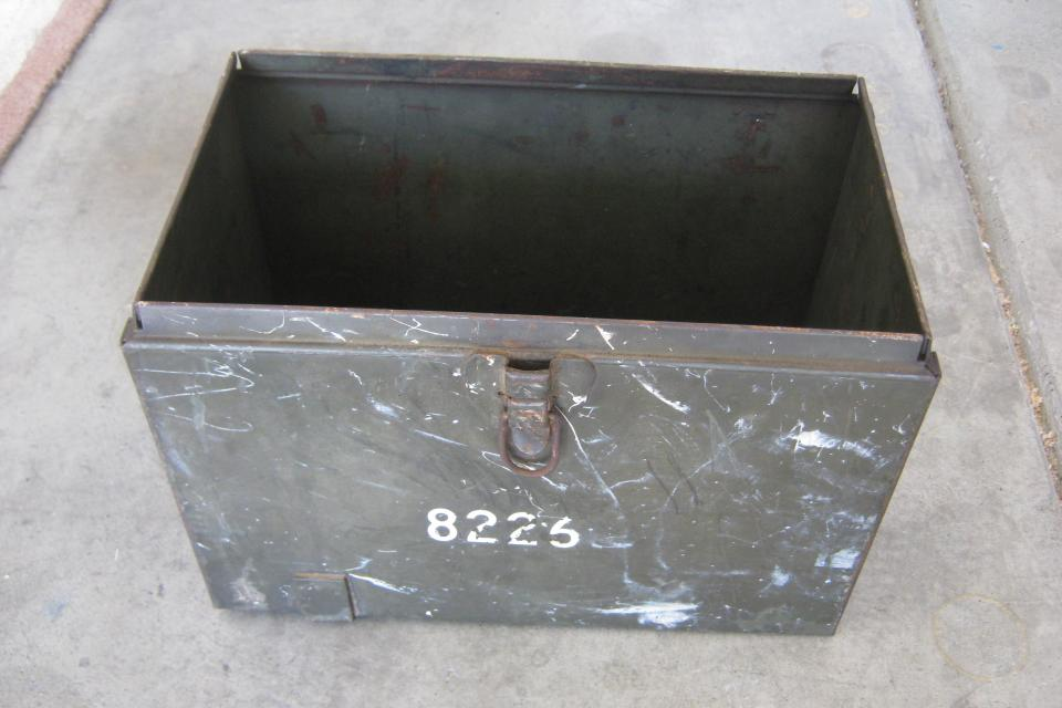WW II  (?)  ammo box (no lid) Large Photo