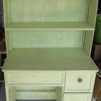 Mint Green Hutch with Chair Space Photo