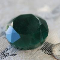 175 Carat Genuine Emerald, Very rare size and shape.  Photo