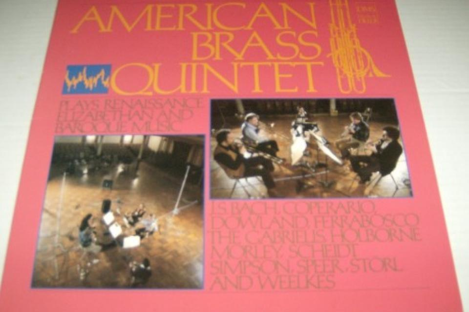 American Brass Quintet, Plays renaissance Elizabeth and Baroque Music Large Photo