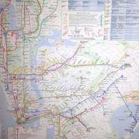 New York City Subway Map (mounted) Photo