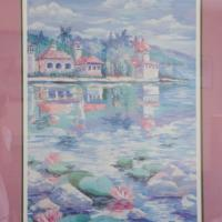 Limited edition water color lithograph (mint cond) Photo