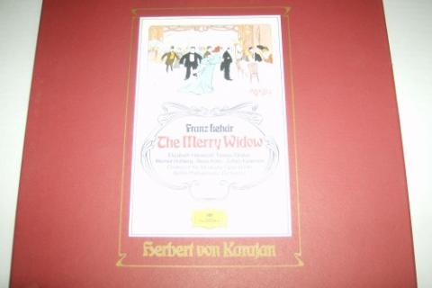 Herbert Von Karajan & Berlin Philharmonic Orchestra, Franz Isehar The Merry Widow Photo