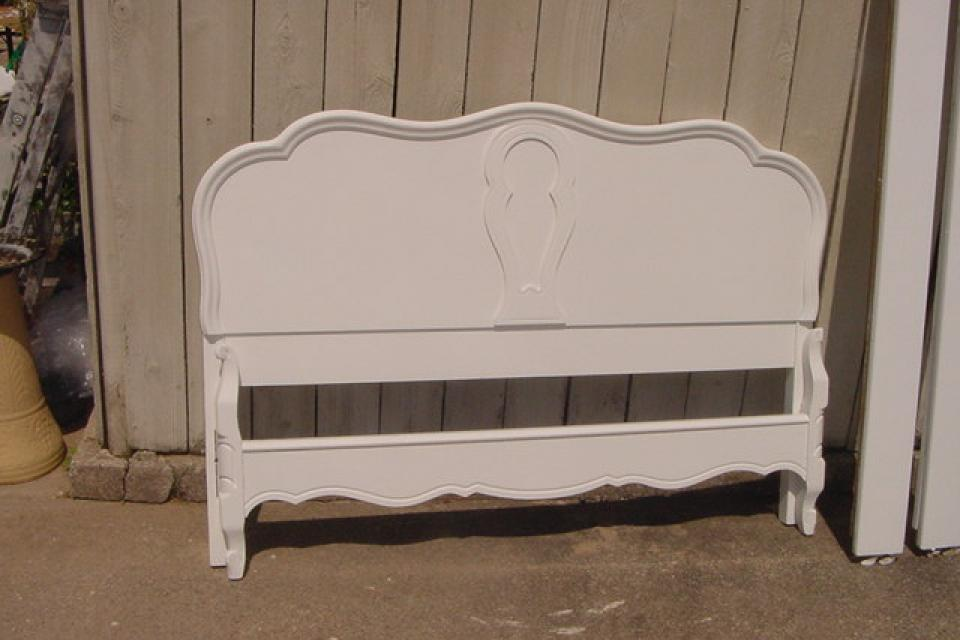 ANTIQUE FRENCH BED STANDARD FULL SIZE Large Photo