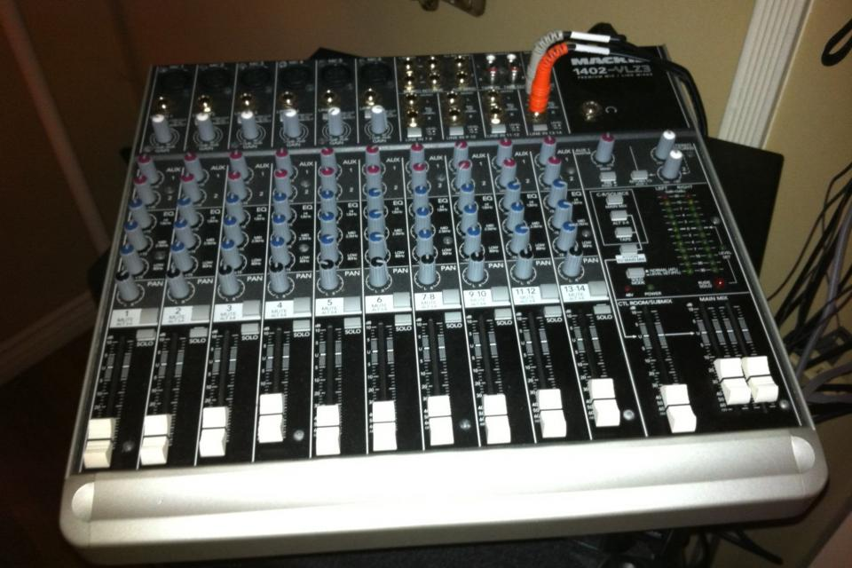 Mackie 1402-VLZ3 Premium mic/line mixer Large Photo