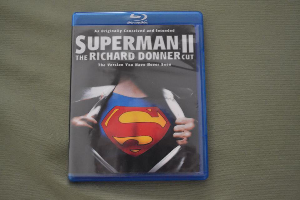 Superman: The Movie, and Superman 2: The Donner Cut Blu-rays!!! Large Photo