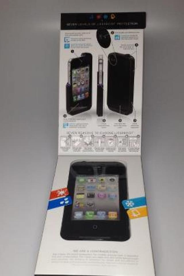 Lifeproof iPhone 4 4S Case 2nd Generation Black BRAND NEW Large Photo