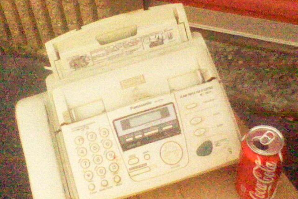 PLAIN PAPER FAX & COPIER Large Photo