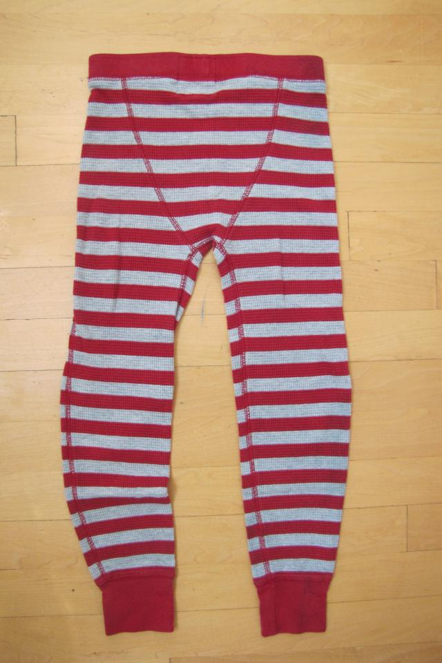 J Crew Crew Cuts boys thermal long john bottoms, size 7 Photo
