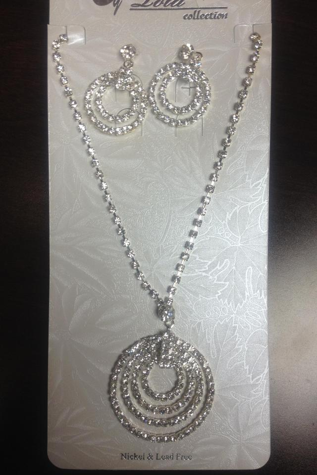Necklace and Earring set. Photo