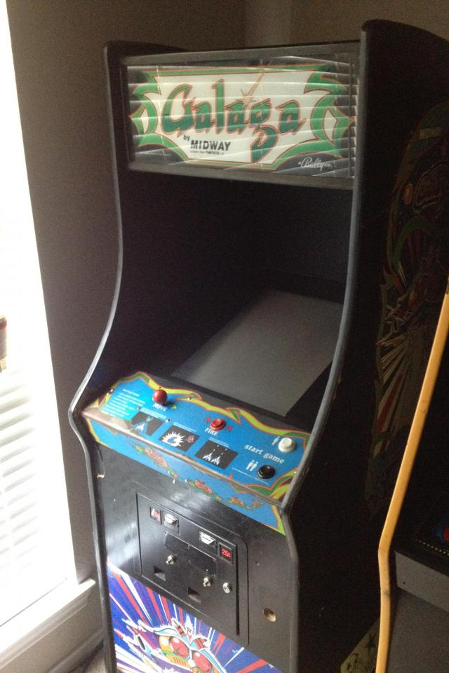 Galaga game Photo