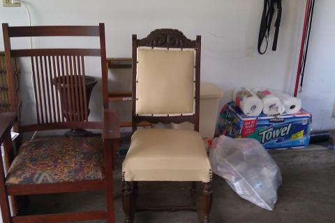 2 of each chairs...one set Prarie other style English King Chair Photo
