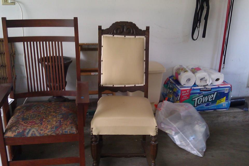 2 of each chairs...one set Prarie other style English King Chair Large Photo
