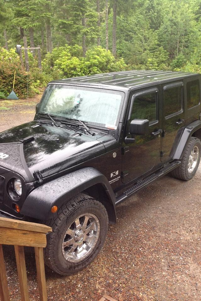 08 jeep wrangler 4dr Photo