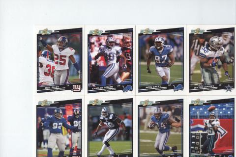 Football Card Lot Assorted Photo