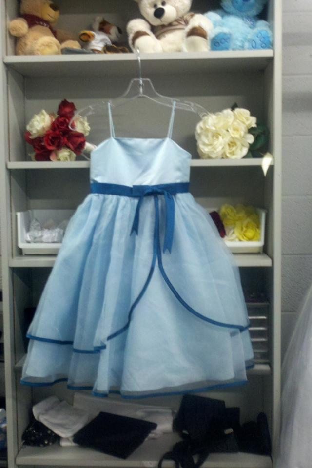 New Robins Egg Blue Dress Sz 6 Photo