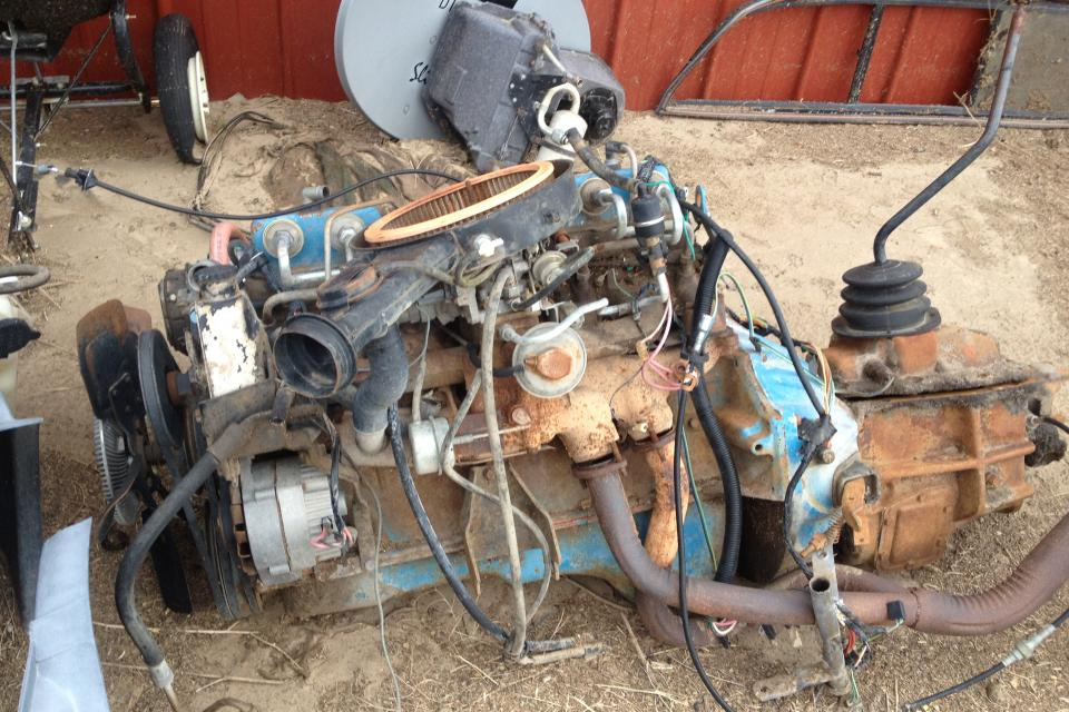 1979 Chevy engine/trans  Large