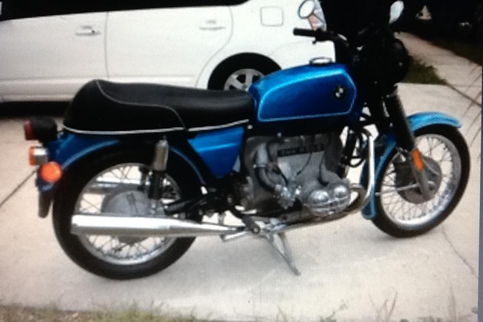 1974 BMW R60/6 Large Photo