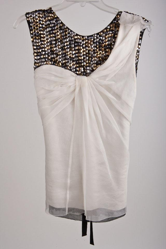 3.1 Philip Lim Sequin Top  Large Photo
