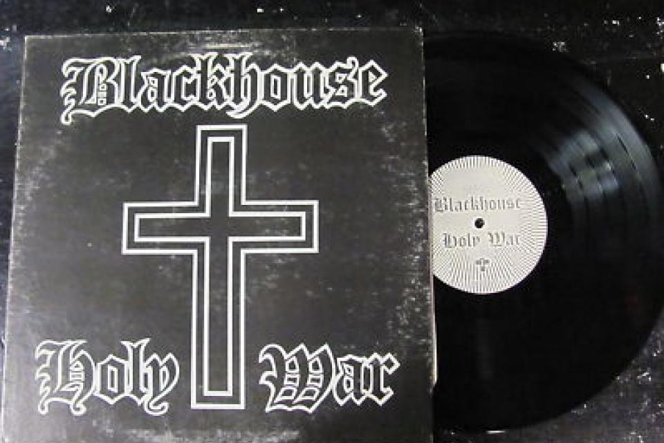 BLACKHOUSE 'HOLY WAR' LP Large Photo