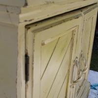Solid Wood Cabinet (Yellow) Photo