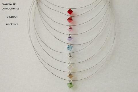 swarovski crystal necklace  Photo