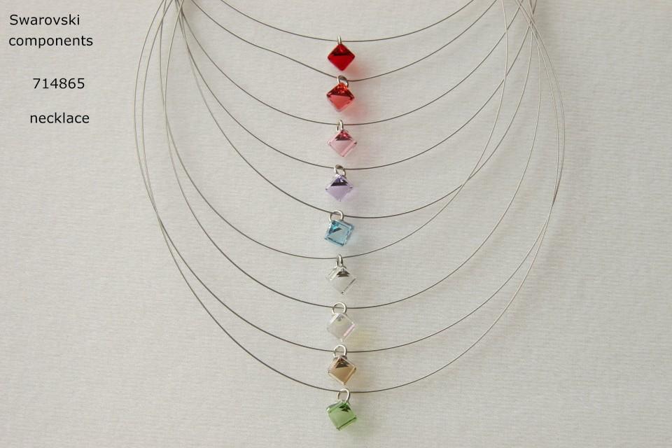 swarovski crystal necklace  Large Photo
