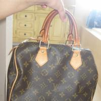 100% Authentic Louis Vuitton Speedy Bag Photo