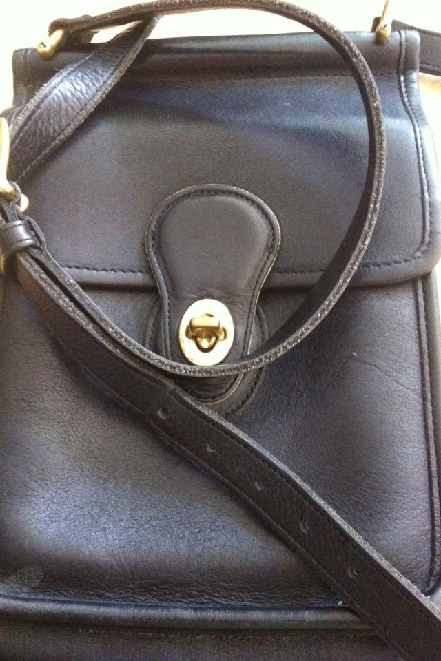Authentic Vintage Coach Purse Photo
