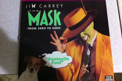 Jim Carrey The Mask Laserdisc THX  Photo