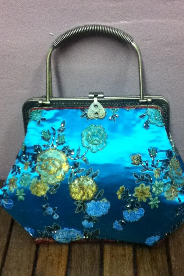 Oriental inspired hand bag Photo