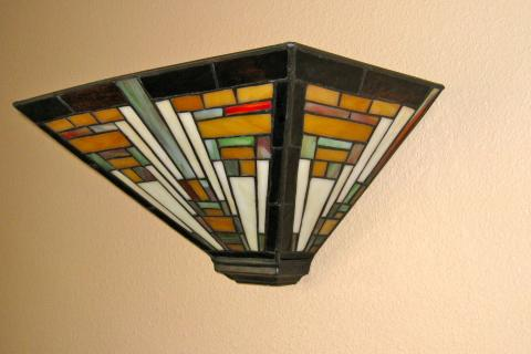 Tiffany Wall Sconces (2) Photo