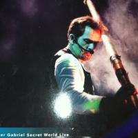 Peter Gabriel Secret World Live Laser Disc Photo