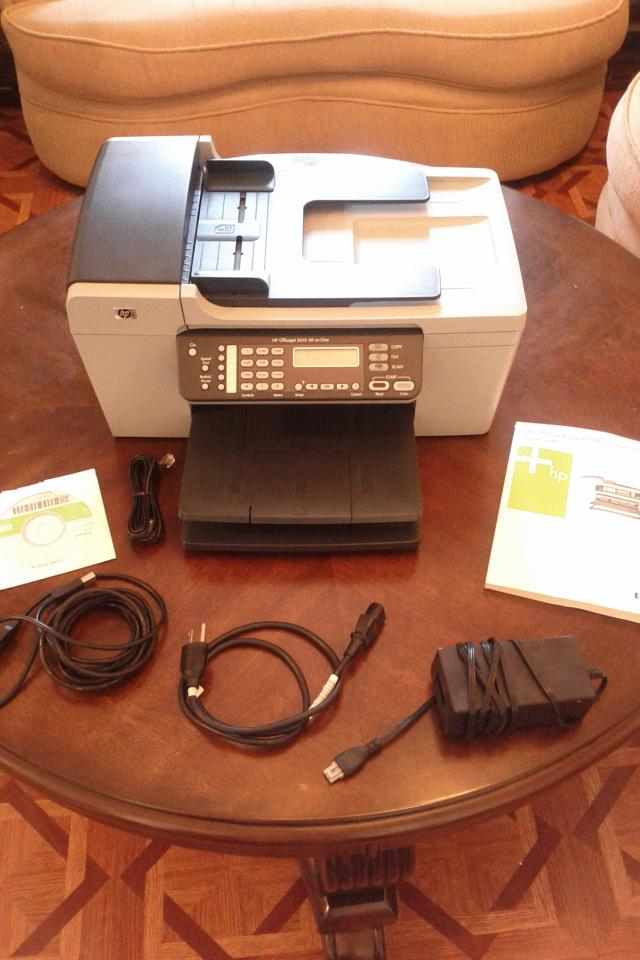 HP Officejet 5610 All-in-One Printer Large Photo
