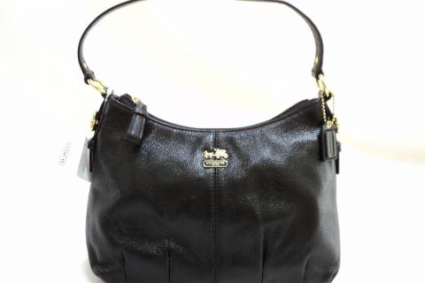 coach madison leather handbag Photo